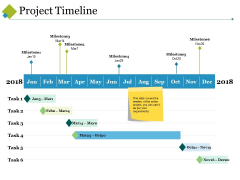 Project Timeline Ppt PowerPoint Presentation Show Model