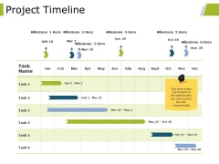Project Timeline Ppt PowerPoint Presentation Slides Show