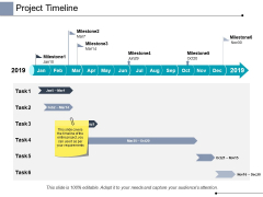 Project Timeline Process Ppt PowerPoint Presentation Infographics Microsoft