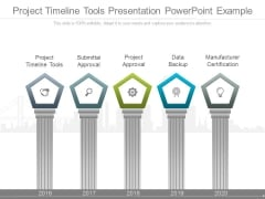 Project Timeline Tools Presentation Powerpoint Example