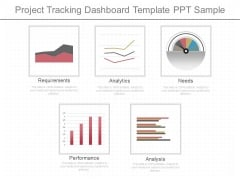 Project Tracking Dashboard Template Ppt Sample