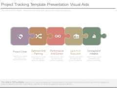 Project Tracking Template Presentation Visual Aids
