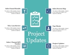 Project Updates Ppt PowerPoint Presentation Summary Example Introduction