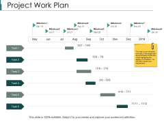 Project Work Plan Ppt PowerPoint Presentation File Samples
