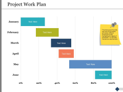 Project Work Plan Ppt PowerPoint Presentation Infographic Template Slides