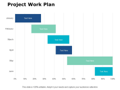 Project Work Plan Ppt PowerPoint Presentation Model Display