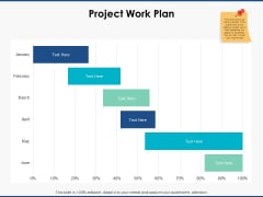 Project Work Plan Ppt PowerPoint Presentation Model Sample