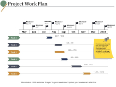 Project Work Plan Ppt PowerPoint Presentation Model Structure