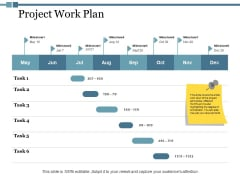 Project Work Plan Ppt PowerPoint Presentation Pictures Gallery