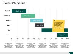 Project Work Plan Ppt PowerPoint Presentation Portfolio