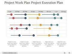 Project Work Plan Project Execution Plan Ppt PowerPoint Presentation Slide Download