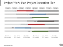 Project Work Plan Project Execution Plan Template 1 Ppt PowerPoint Presentation Slide Download