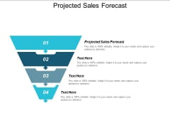 Projected Sales Forecast Ppt PowerPoint Presentation Professional Portrait Cpb