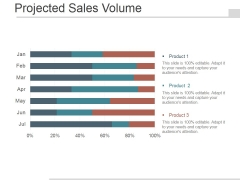 Projected Sales Volume Ppt PowerPoint Presentation Good