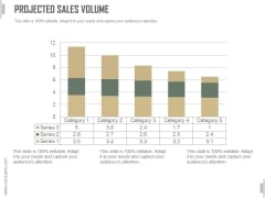 Projected Sales Volume Ppt PowerPoint Presentation Pictures