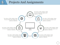 Projects And Assignments Template 1 Ppt PowerPoint Presentation Example 2015