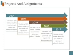 Projects And Assignments Template 7 Ppt PowerPoint Presentation Infographic Template