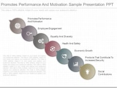 Promotes Performance And Motivation Sample Presentation Ppt
