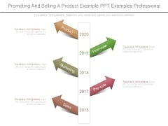 Promoting And Selling A Product Example Ppt Examples Professional