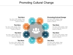 Promoting Cultural Change Ppt PowerPoint Presentation Show Graphics Example Cpb
