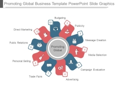 Promoting Global Business Template Powerpoint Slide Graphics