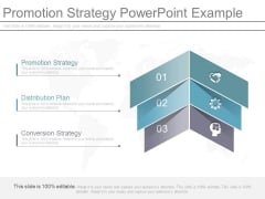 Promotion Strategy Powerpoint Example