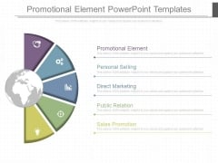 Promotional Element Powerpoint Templates
