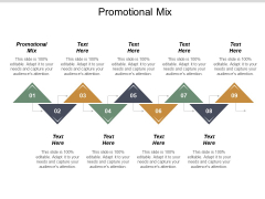 Promotional Mix Ppt PowerPoint Presentation Summary Microsoft Cpb