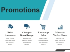 Promotions Ppt PowerPoint Presentation Slide