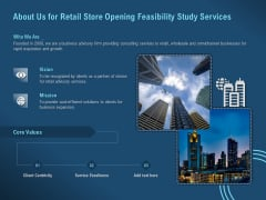 Proof Concept Variety Shop About Us For Retail Store Opening Feasibility Study Services Guidelines PDF