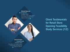 Proof Concept Variety Shop Client Testimonials For Retail Store Opening Feasibility Study Services Rules PDF