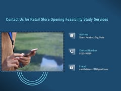 Proof Concept Variety Shop Contact Us For Retail Store Opening Feasibility Study Services Inspiration PDF