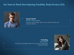 Proof Concept Variety Shop Our Team For Retail Store Opening Feasibility Study Services Brochure PDF