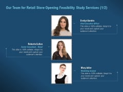 Proof Concept Variety Shop Our Team For Retail Store Opening Feasibility Study Services Marketing Background PDF