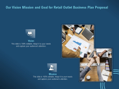 Proof Concept Variety Shop Our Vision Mission And Goal For Retail Outlet Business Plan Proposal Inspiration PDF