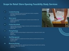 Proof Concept Variety Shop Scope For Retail Store Opening Feasibility Study Services Introduction PDF