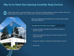 Proof Concept Variety Shop Why Us For Retail Store Opening Feasibility Study Services Structure PDF