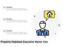 Property Helpdesk Executive Vector Icon Ppt PowerPoint Presentation Icon Background PDF