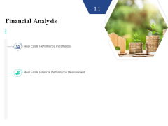 Property Investment Strategies Financial Analysis Slide Ppt PowerPoint Presentation Model Summary PDF