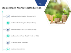 Property Investment Strategies Real Estate Market Introduction Ppt PowerPoint Presentation Pictures Layout PDF