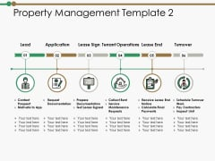 Property Management Template Application Ppt PowerPoint Presentation Slides Ideas