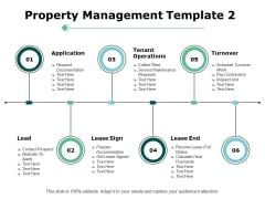 Property Management Tenant Operations Ppt PowerPoint Presentation Infographic Template Infographics