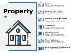 Property Ppt PowerPoint Presentation Visual Aids Backgrounds