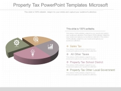Property Tax Powerpoint Templates Microsoft