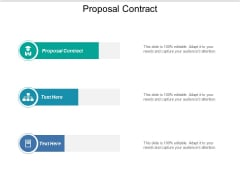 Proposal Contract Ppt PowerPoint Presentation Model Cpb