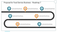 Proposal For Food Service Business Roadmap Seven Stage Process Ppt Layouts Graphic Images PDF
