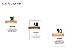 Proposal For Purchasing New Equipment 30 60 90 Days Plan Ppt Professional Ideas PDF