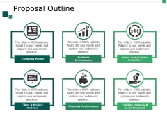 Proposal Outline Ppt PowerPoint Presentation Layouts Designs