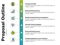 Proposal Outline Ppt PowerPoint Presentation Portfolio Slides