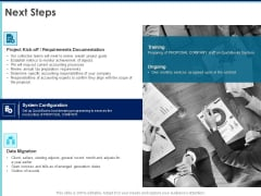 Proposal Template For Accounting Services Next Steps Ppt Summary Influencers PDF